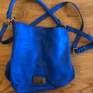 Marc by Marc Jacobs blue bucket purse